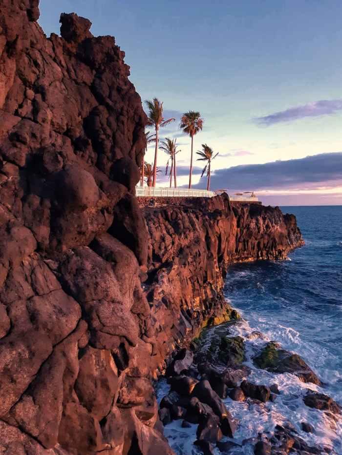 scenic view of seashore during dawn